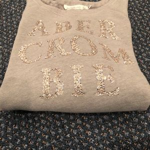 Abercrombie and Fitch Glitter Sweatshirt